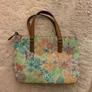 Fossil Butterfly Purse with matching wallet